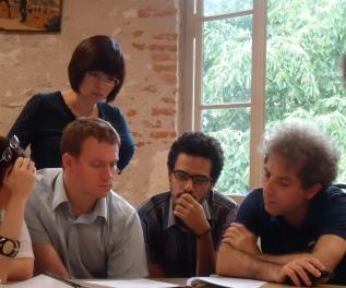 Jonghee Kang, David Cucchiara, Sergio Lacerda and Stefano Gervasoni