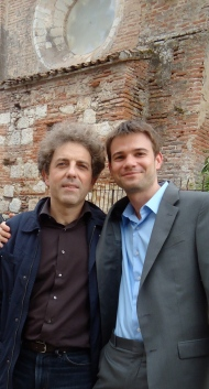 Me and Stefano Gervasoni
