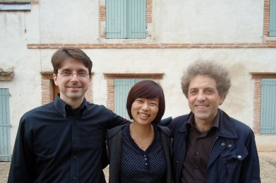 Dominique Schafer, Jonghee Kang and Stefano Gervasoni