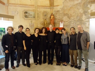 A group photo after our first concert
