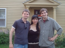 Me, Juri and John in Lenox