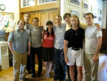 The Tanglewood Composers with teachers John Harbison and Michael Gandolfi