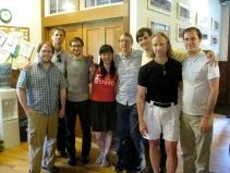 The Tanglewood Composers with teachers John Harbison and Michael Gandolfi