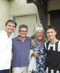 Me, Jean-Philippe, Monika and Jean-Louis