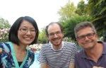 Keiko, Yohanan and Jean-Philippe