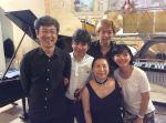 Tosiya, Toshio, Junko, Kaito and Noriko