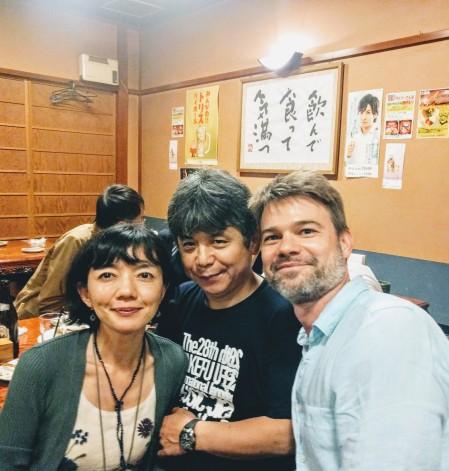 With Toshio Hosokawa and Noriko Miura