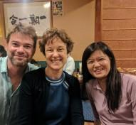 With Isabel Mundry and Hitomi Kaneko